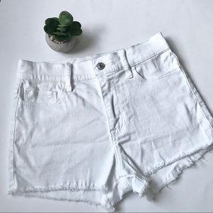 Abercrombie White Women's Shorts